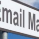 Metal Sign that says Email Marketing pointing to the left